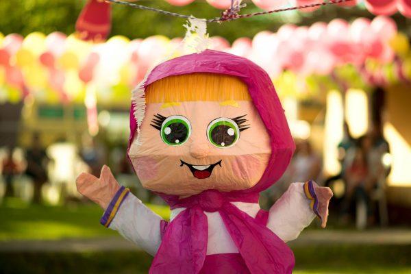 Tradición de las piñatas