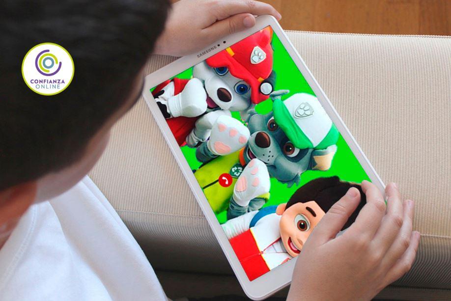 Videollamada de personajes infantiles para cumpleaños virtuales