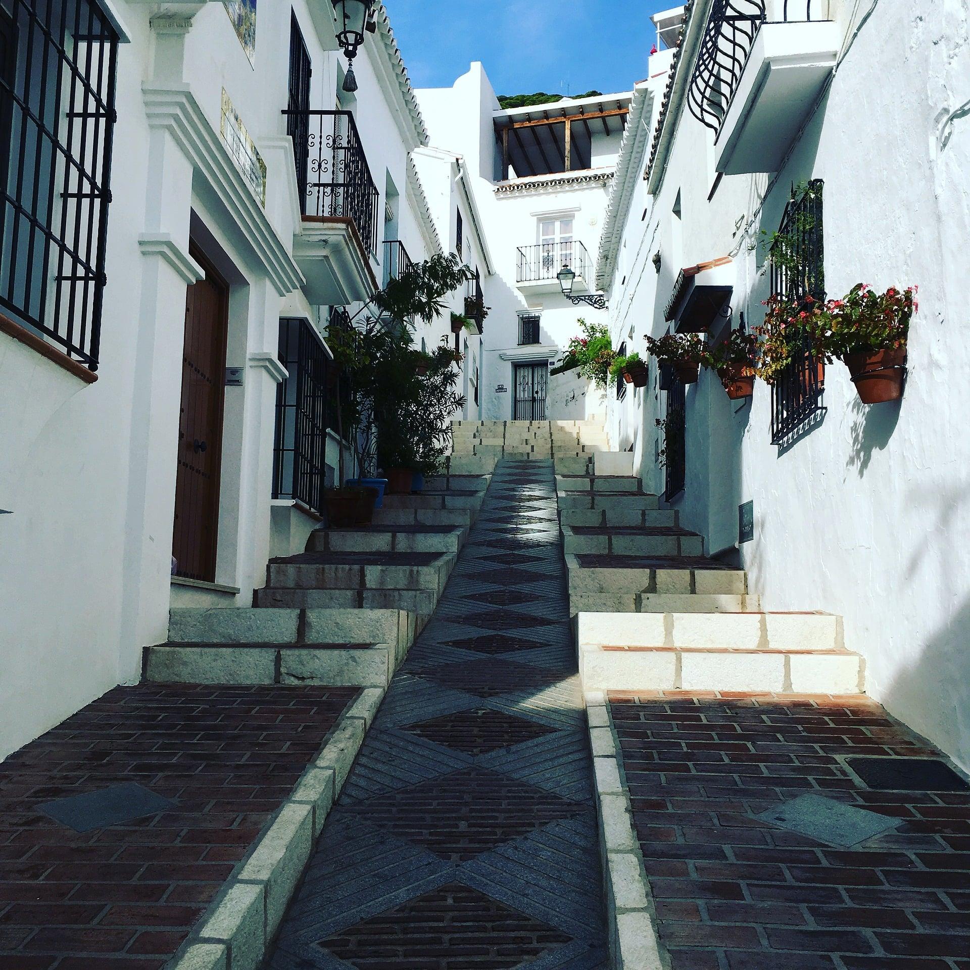 Calle de Mijas.