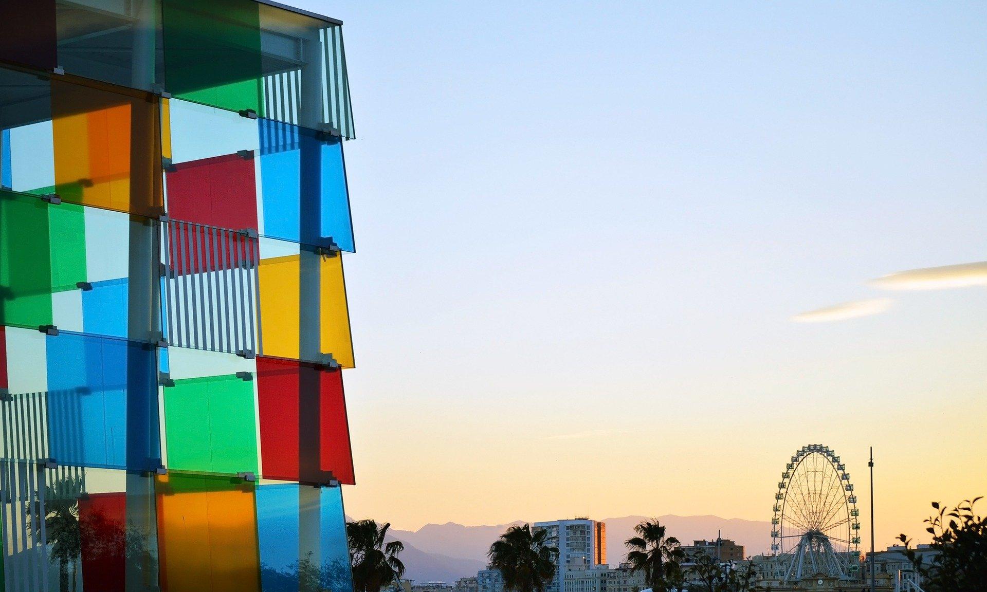 El Cubo, Centro Pompidou