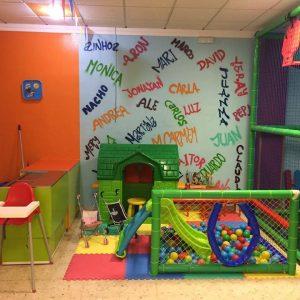 Zona para bebés en el local de celebraciones FiestaPark