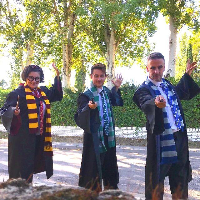 animadores cumpleaños Harry Potter