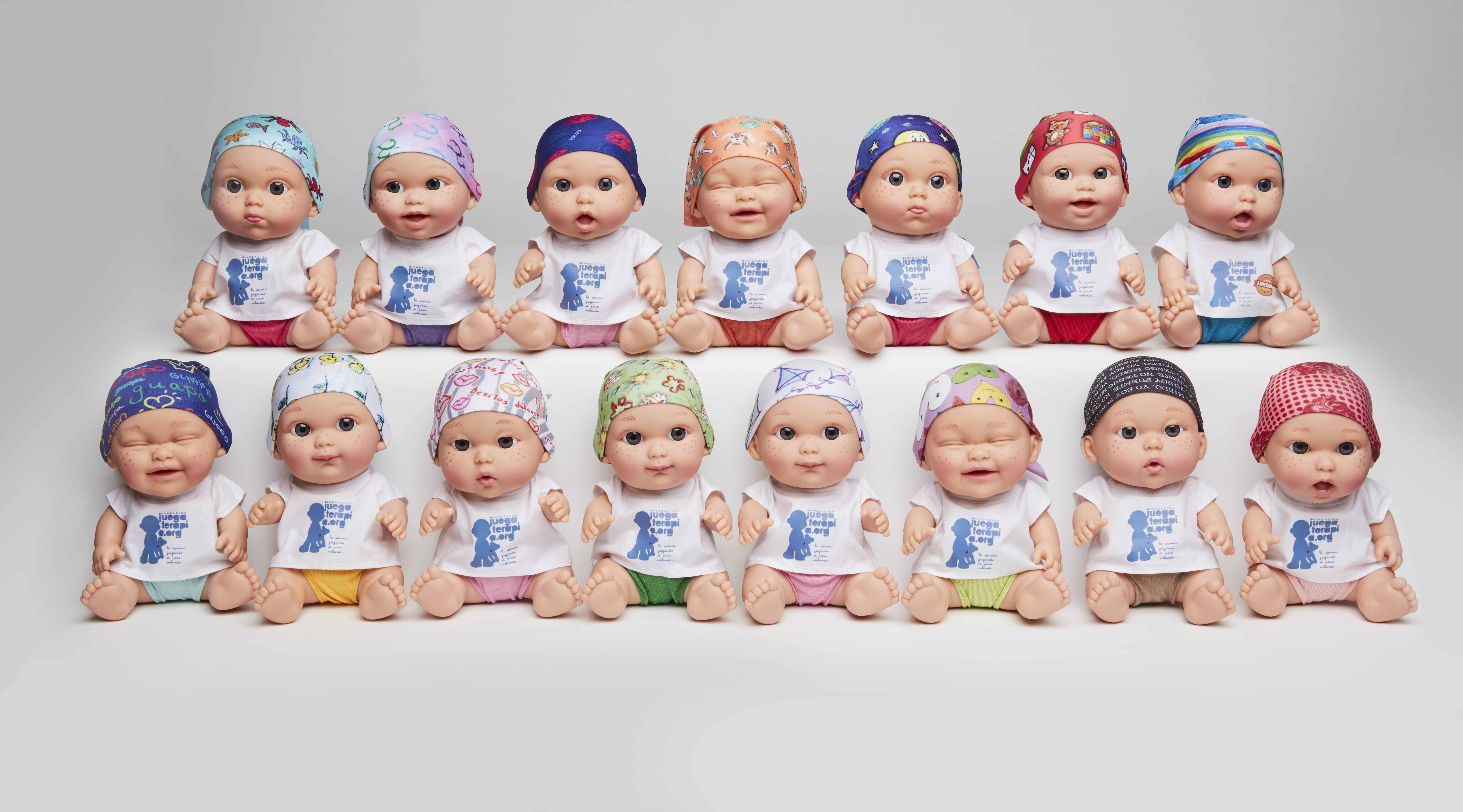 BabyPelones. Muñecos solidarios en la lucha contra el cáncer infantil