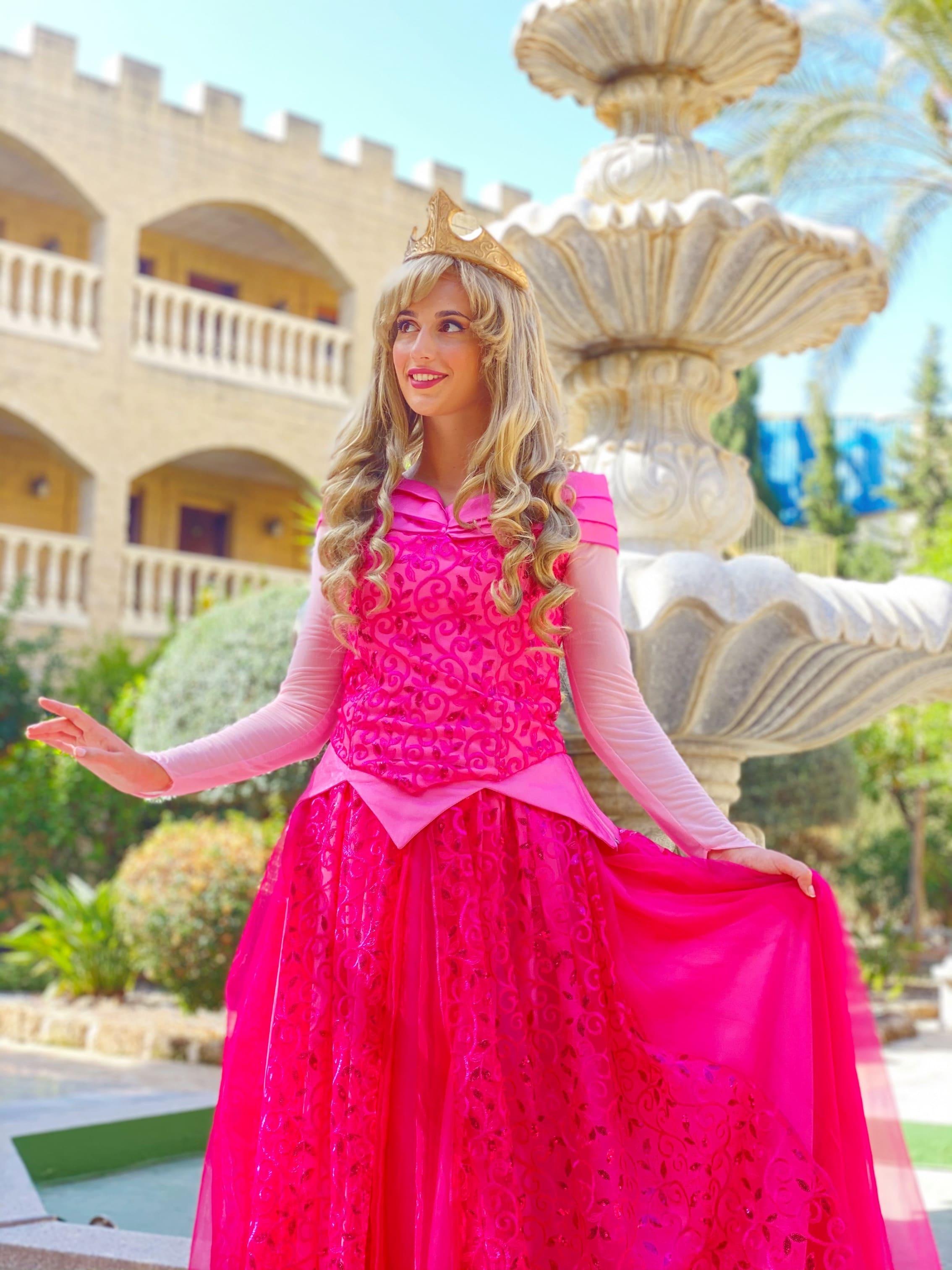 visitas de princesas en fiesta de malaga